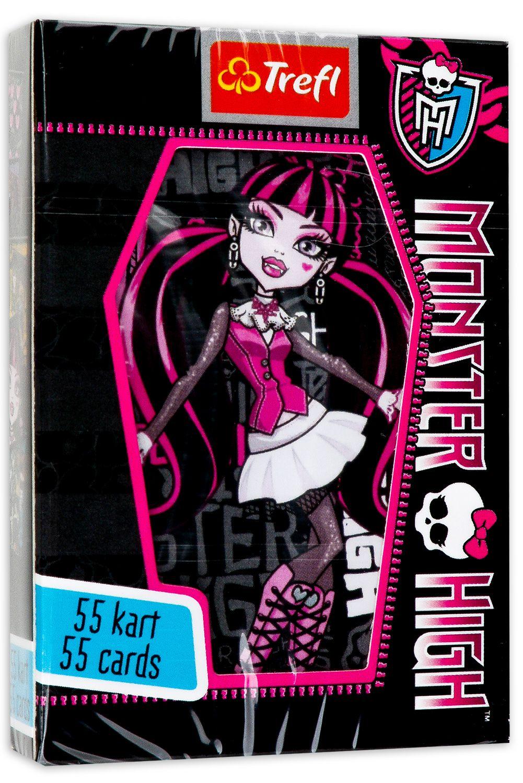 Детски карти за игра Trefl - Monster High - 1