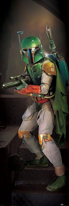 Плакат за врата Pyramid - Star Wars (Boba Fett) - 1