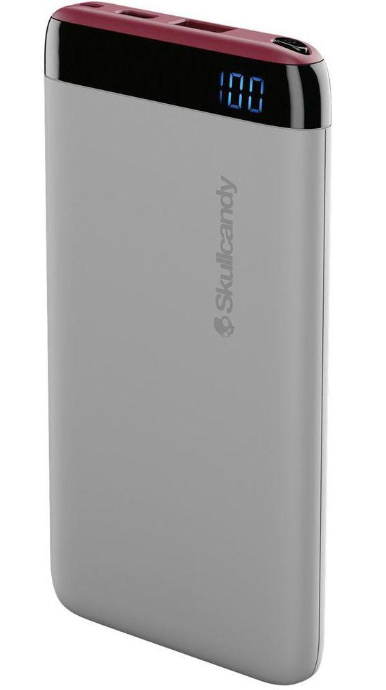 Портативна батерия Skullcandy - Stash, 6000 mah, vice/crimson - 1