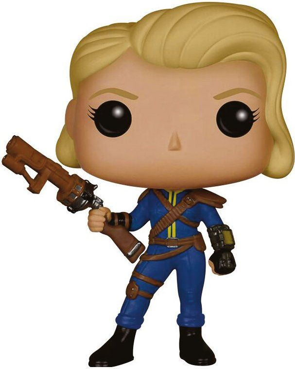 Фигура Funko Pop! Games: Fallout - Lone Wanderer Female, #48 - 1
