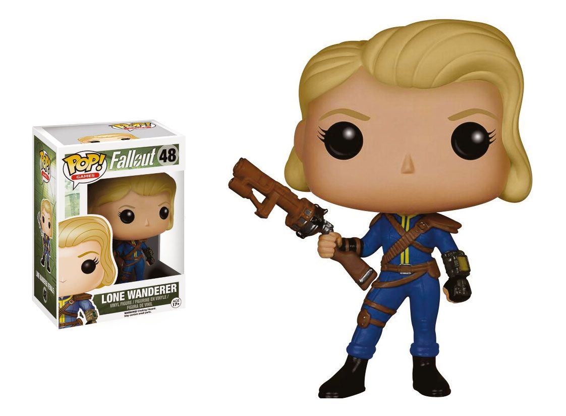 Фигура Funko Pop! Games: Fallout - Lone Wanderer Female, #48 - 2