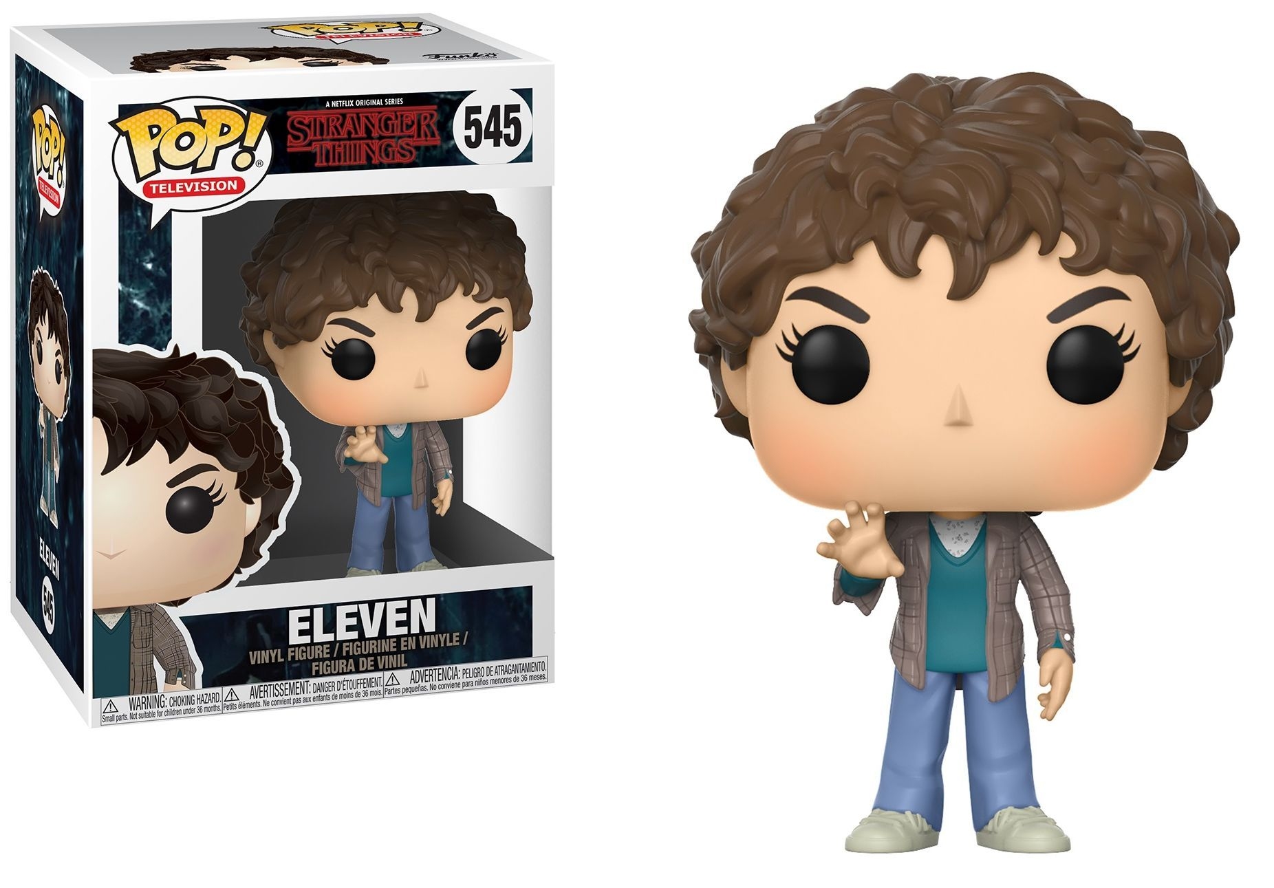 Фигура Funko Pop! Television: Stranger Things - Eleven, #545 - 2