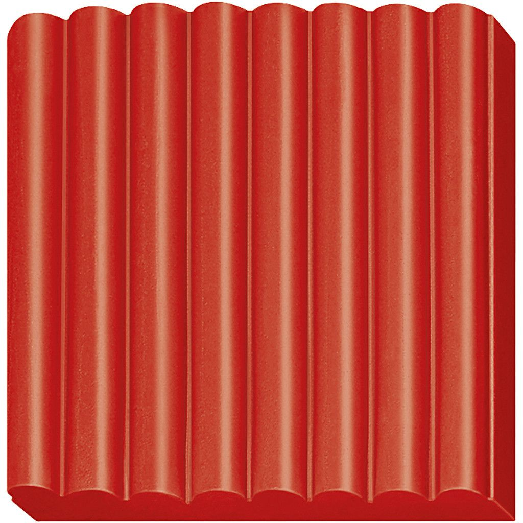 Полимерна глина Staedtler Fimo Kids - червен цвят - 3