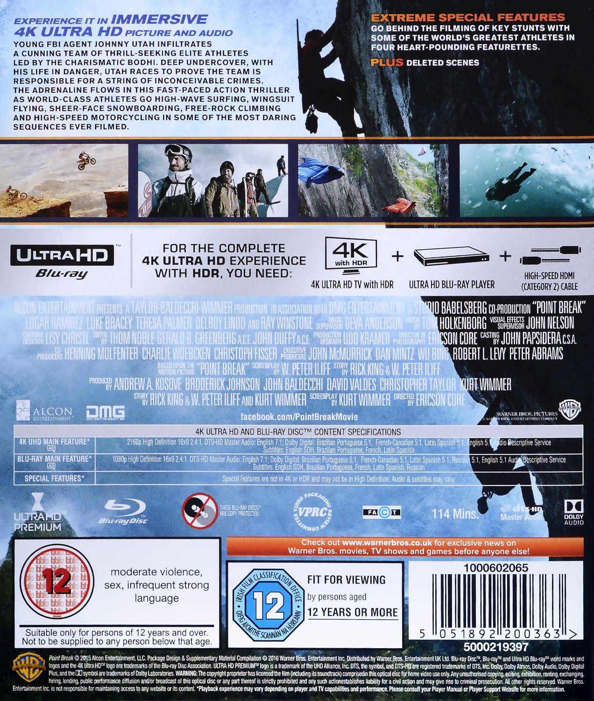 Point Break (4K UHD + Blu-Ray) - 2