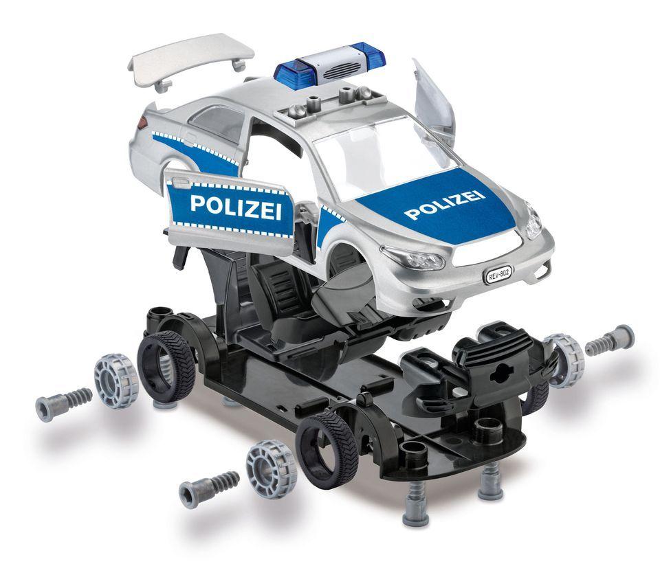 Сглобяем модел на полицейски автомобил Revell (00802) - 2
