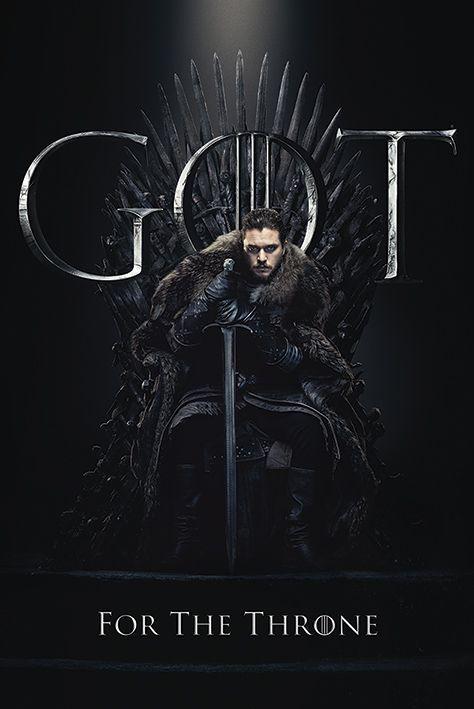 Макси плакат Pyramid - Game of Thrones (Jon For The Throne) - 1