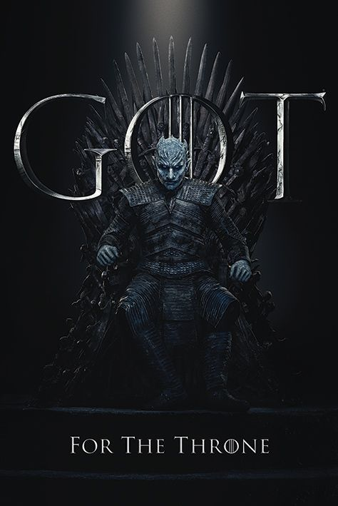Макси плакат Pyramid - Game of Thrones (The Night King For The Throne) - 1