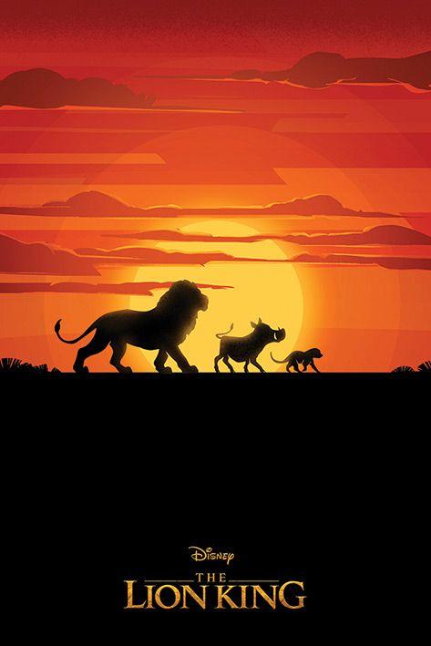 Макси плакат Pyramid - The Lion King Movie (Long Live The King)  - 1