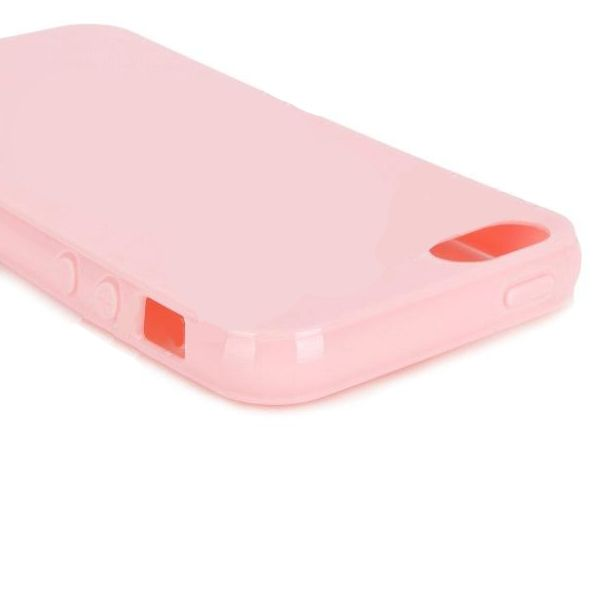 Protective TPU Case за iPhone 5 -  розов - 4