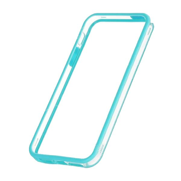Protective Ultraslim Clear Bumper за iPhone 5 -  син - 2