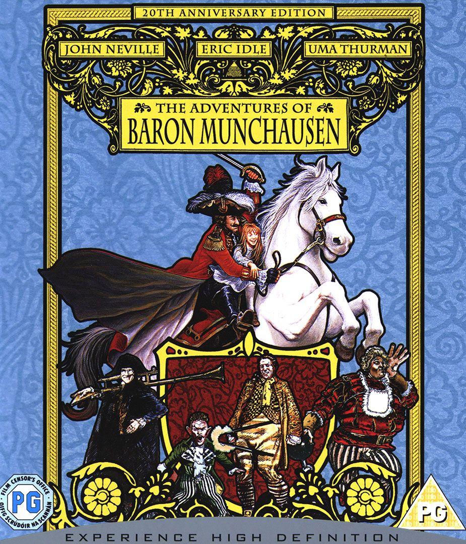 Приключенията на Барон Мюнхаузен (Blu-Ray) - 1