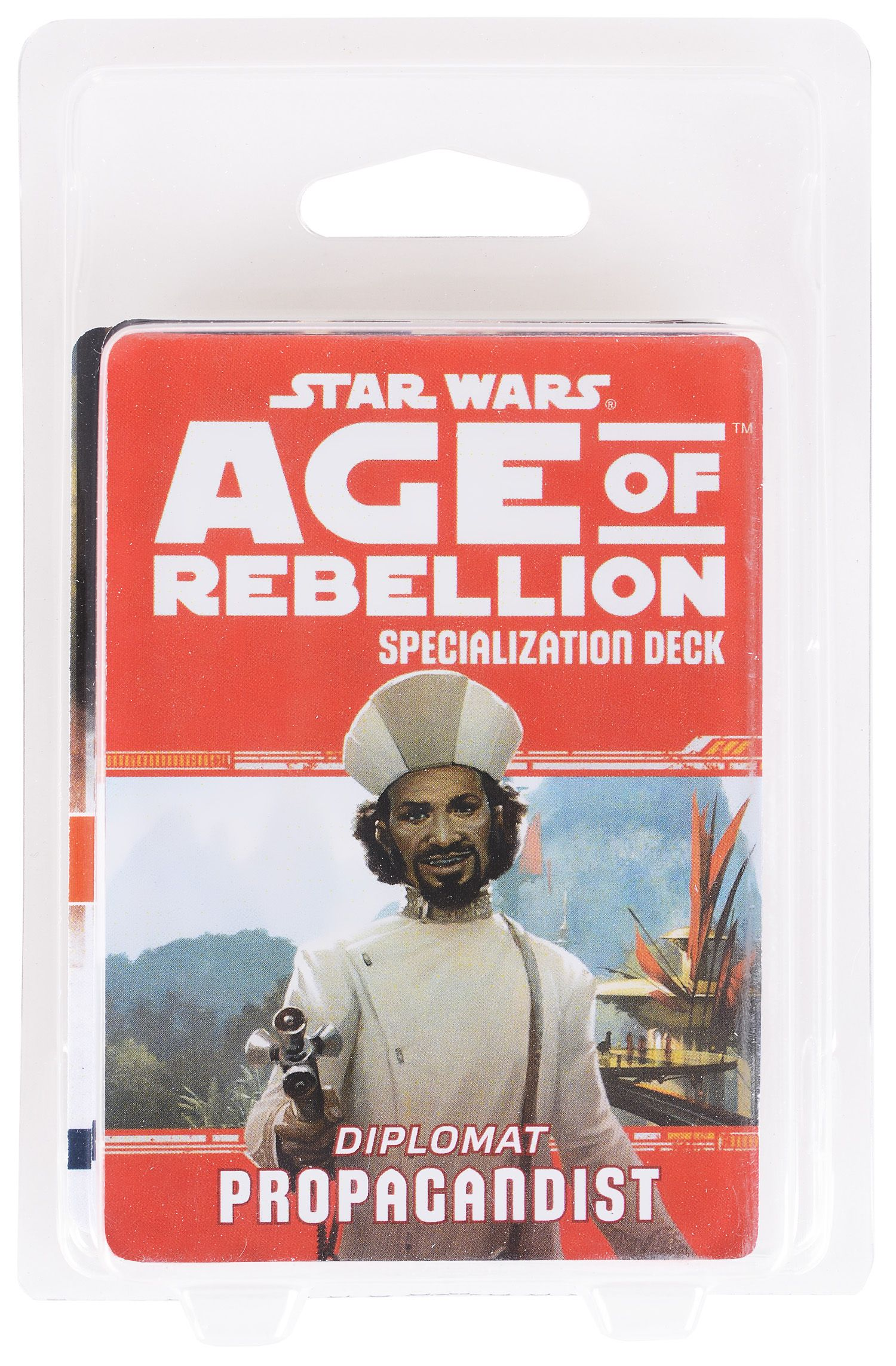 Допълнение за ролева игра Star Wars: Age of Rebellion - Propagandist Specialization Deck - 2