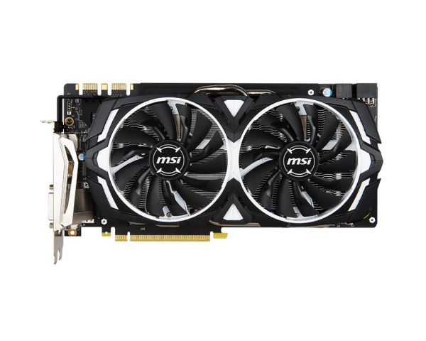 Видеокарта MSI GeForce GTX 1080 Armor Overclocked (8GB GDDR5X) - 2