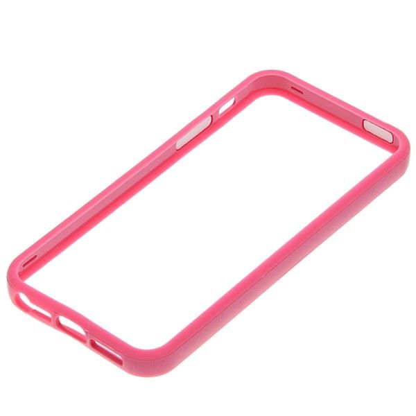 Protective Ultraslim Bumper за iPhone 5 -  розов - 3