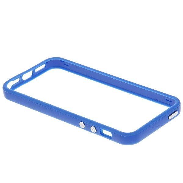 Protective Ultraslim Bumper за iPhone 5 -  син - 4