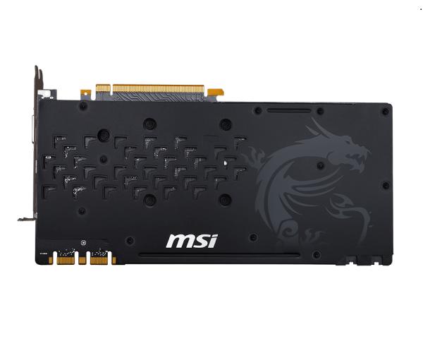 Видеокарта MSI GeForce GTX 1080 Gaming X (8GB GDDR5X) - 2