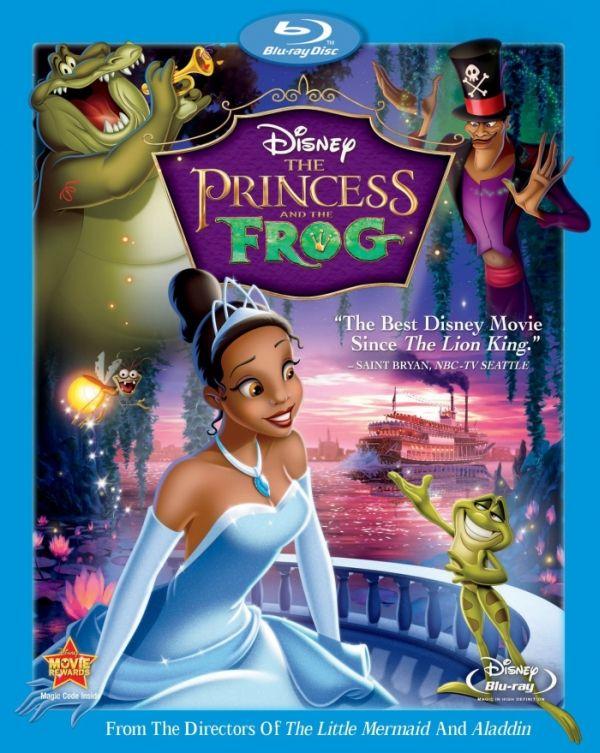 Принцесата и жабокът (Blu-Ray) - 1