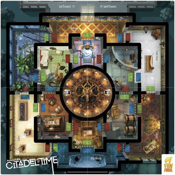 Настолна игра Professor Evil and The Citadel of Time - 3