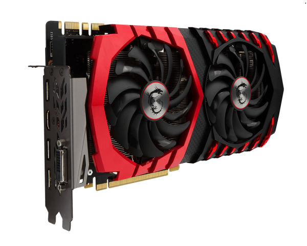 Видеокарта MSI GeForce GTX 1080 Gaming X (8GB GDDR5X) - 3