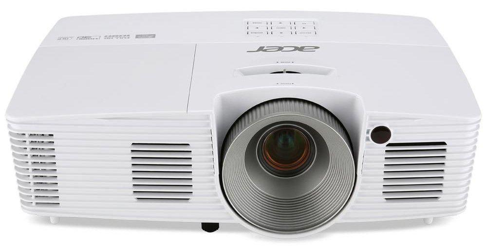 Мултимедиен проектор Acer H6517ST Short-Throw, Native 1080p, DLP® 3D Ready, Full HD 1080p (Data), Contrast:   1 - 1