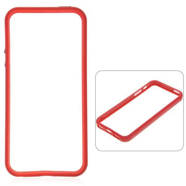 Protective Ultraslim Bumper за iPhone 5 -  червен - 1