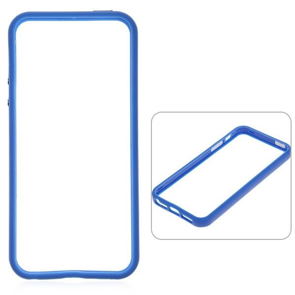 Protective Ultraslim Bumper за iPhone 5 -  син - 1