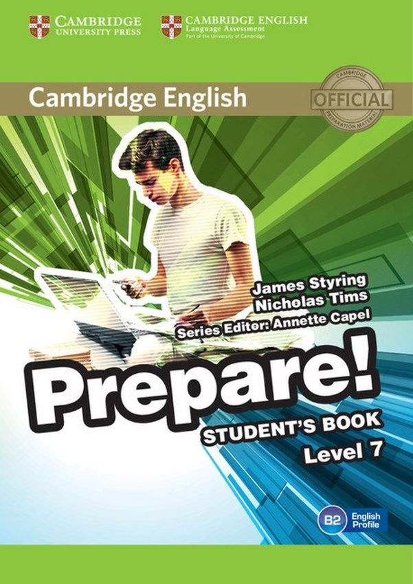 Prepare! 7 Student's Book: Английски език - ниво B2 (учебник) - 1