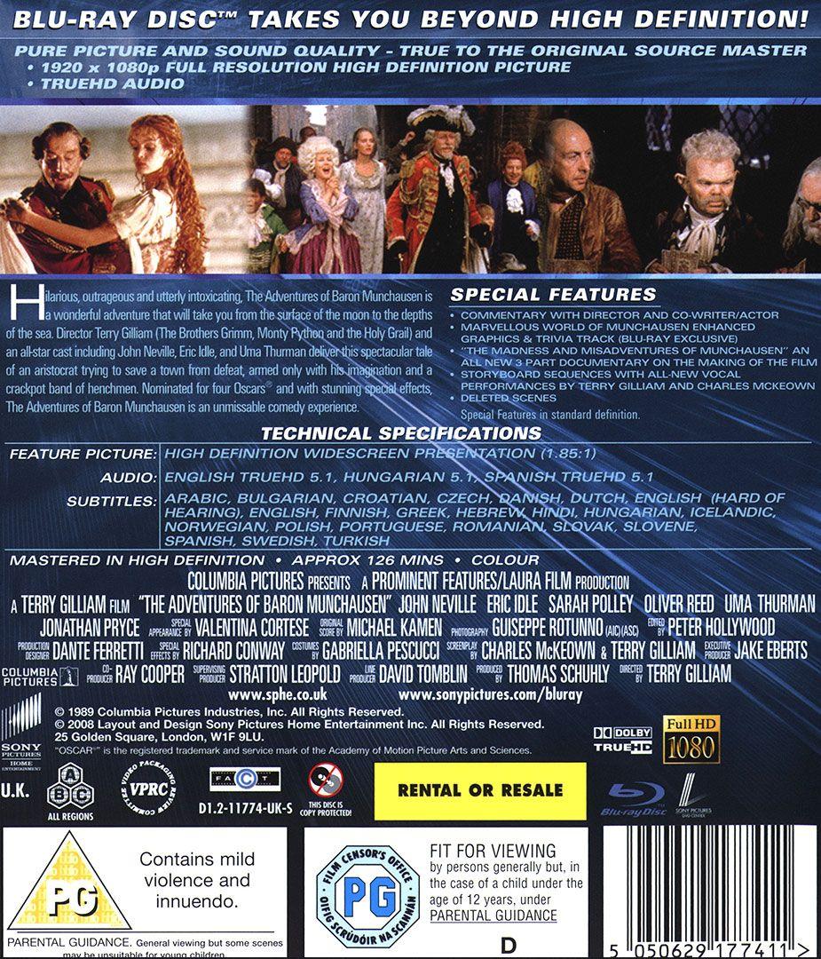 Приключенията на Барон Мюнхаузен (Blu-Ray) - 2