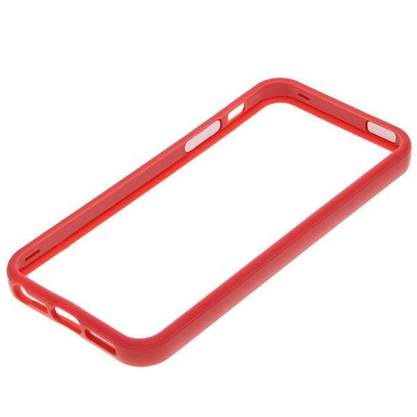 Protective Ultraslim Bumper за iPhone 5 -  червен - 4