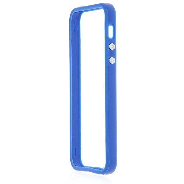 Protective Ultraslim Bumper за iPhone 5 -  син - 2