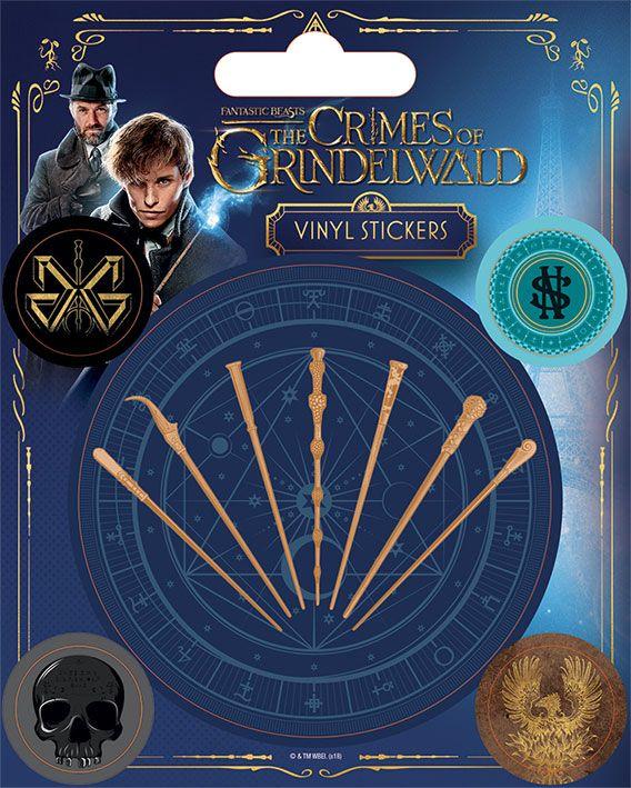 Стикери Pyramid - Fantastic Beasts: The Crimes Of Grindelwald - 1