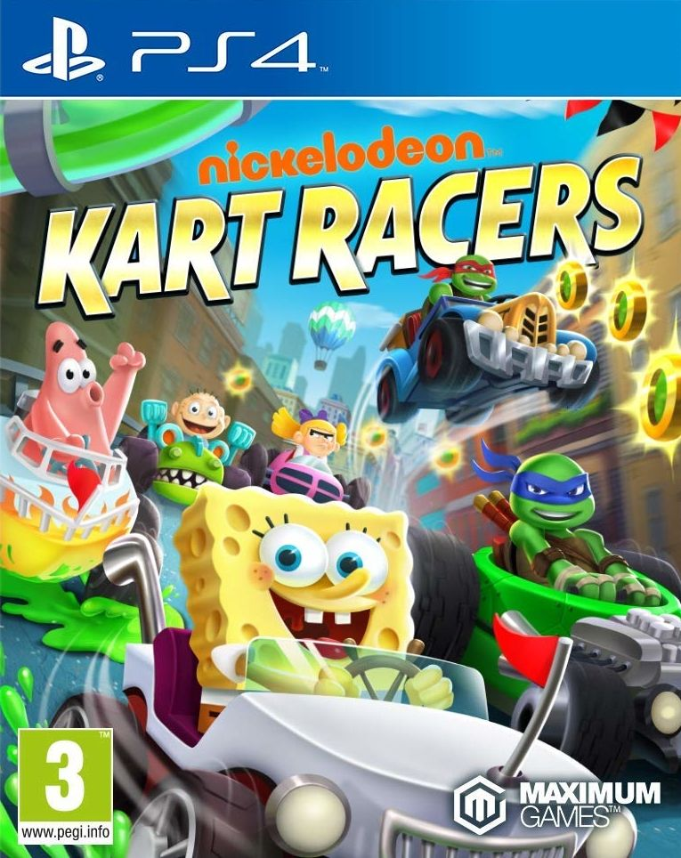 Nickelodeon Kart Racers (PS4) - 1
