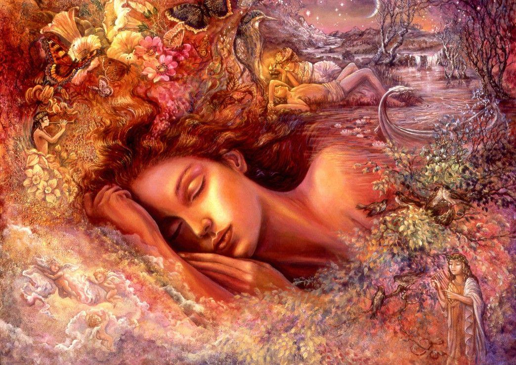 Пъзел Grafika от 1000 части - Сънища на Психея, Жозефин Уол - 2