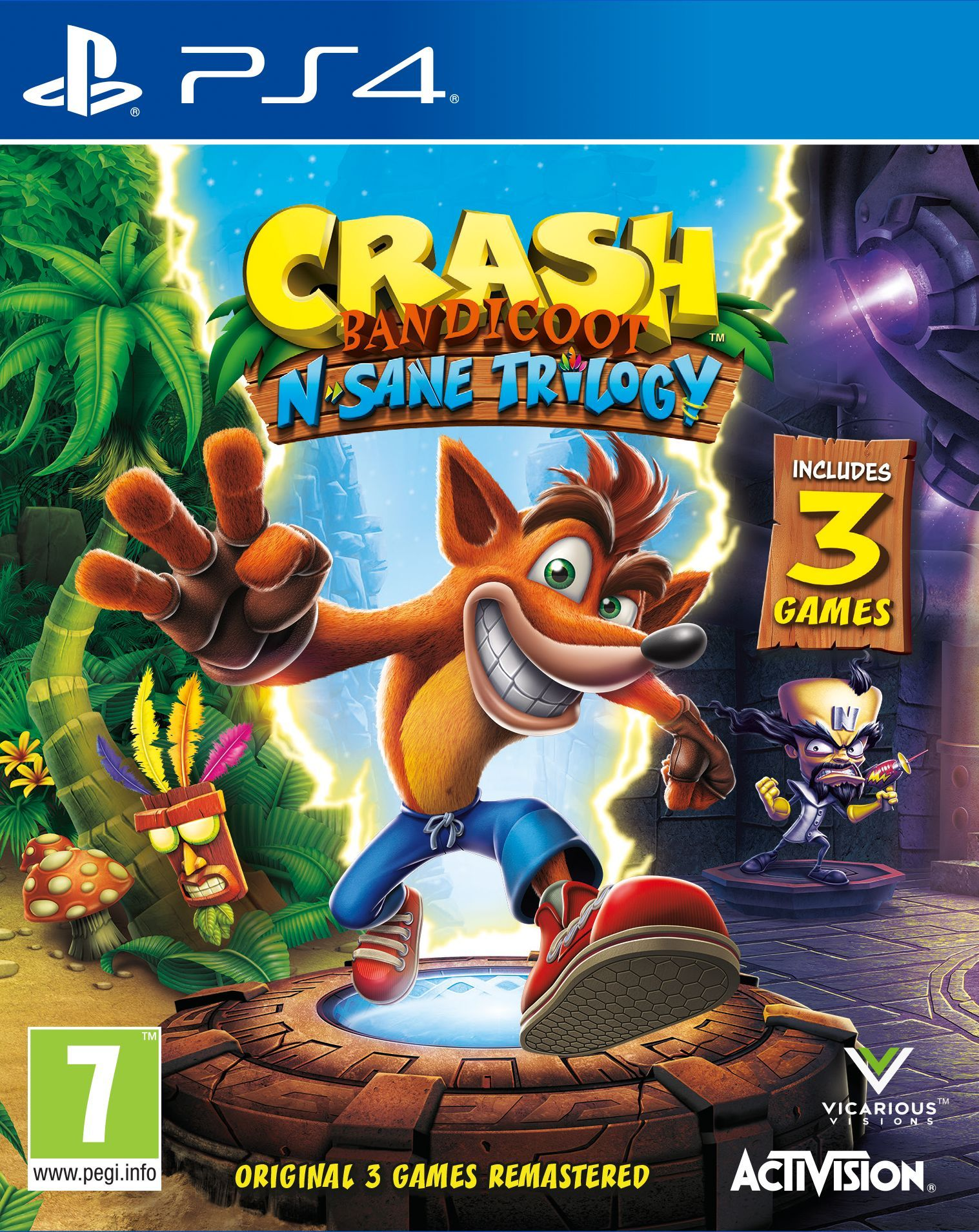 Crash Bandicoot N. Sane Trilogy (PS4) - 1