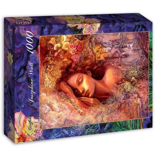 Пъзел Grafika от 1000 части - Сънища на Психея, Жозефин Уол - 1
