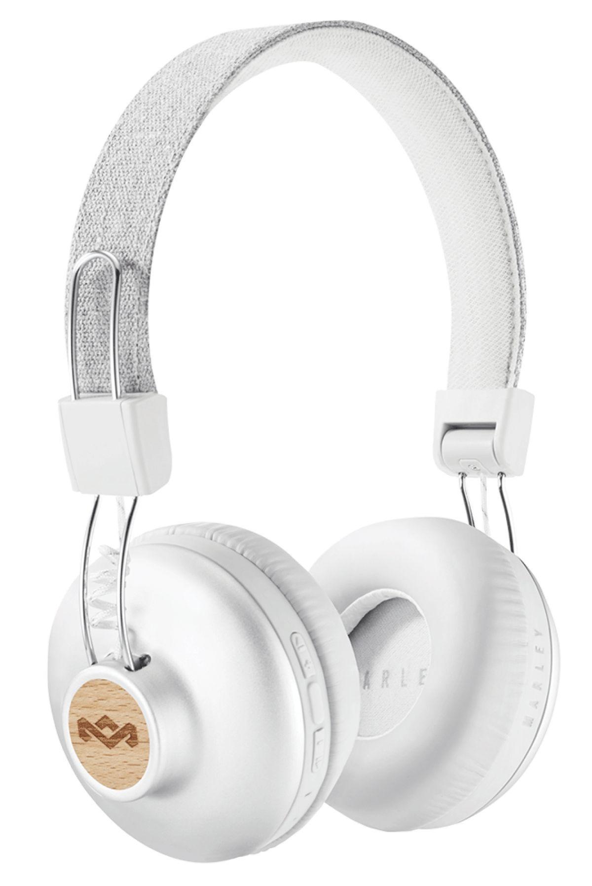 Безжични слушалки House of Marley - Positive Vibration 2, сребристи - 1