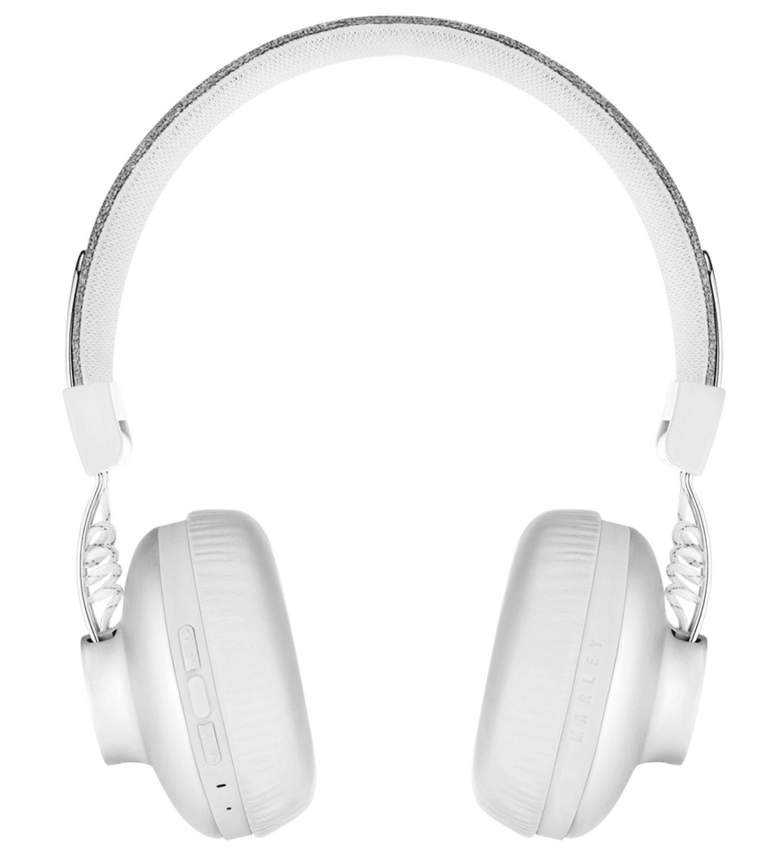 Безжични слушалки House of Marley - Positive Vibration 2, сребристи - 5