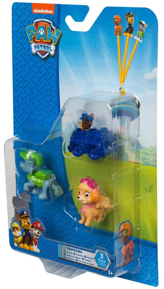 Комплект фигурки за моливи Nickelodeon Paw Patrol - 3 броя, асортимент - 2