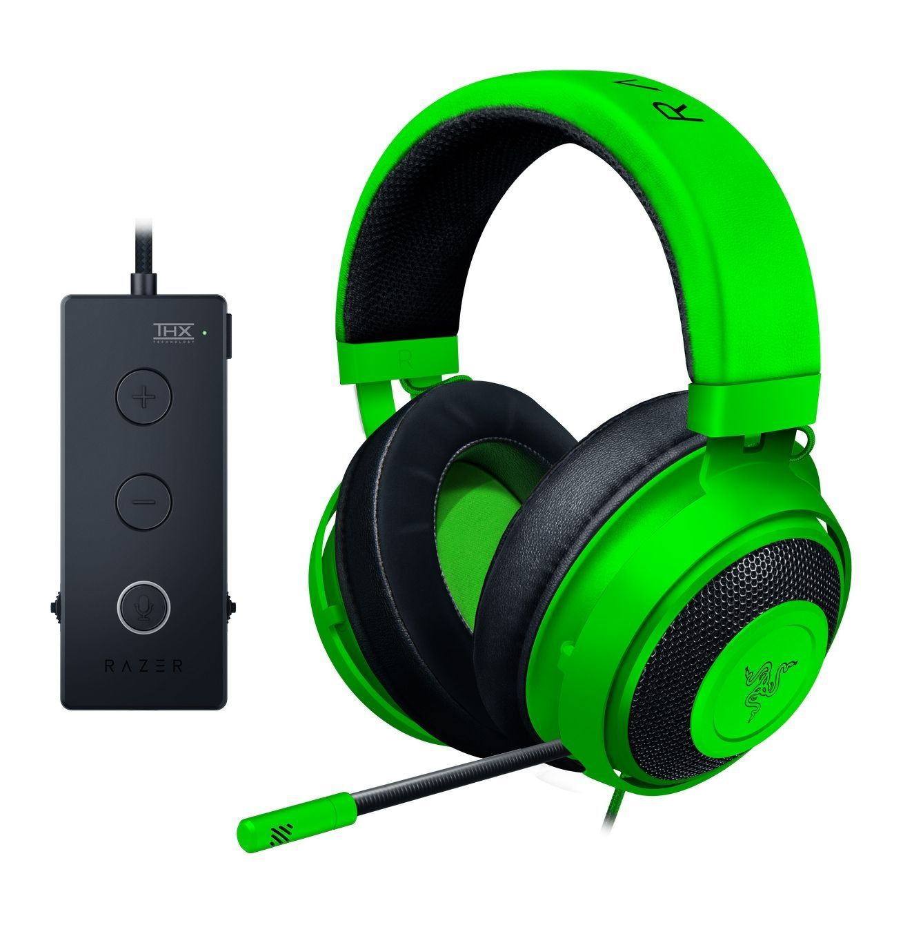 Гейминг слушалки Razer Kraken Tournament Edition - Green - 3
