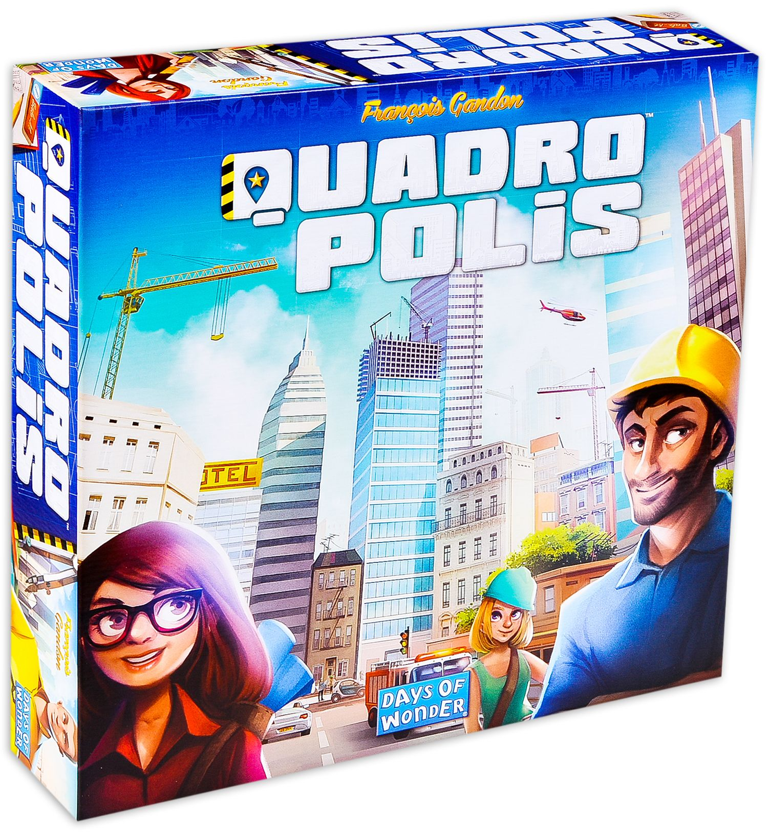 Настолна игра Quadropolis - 2