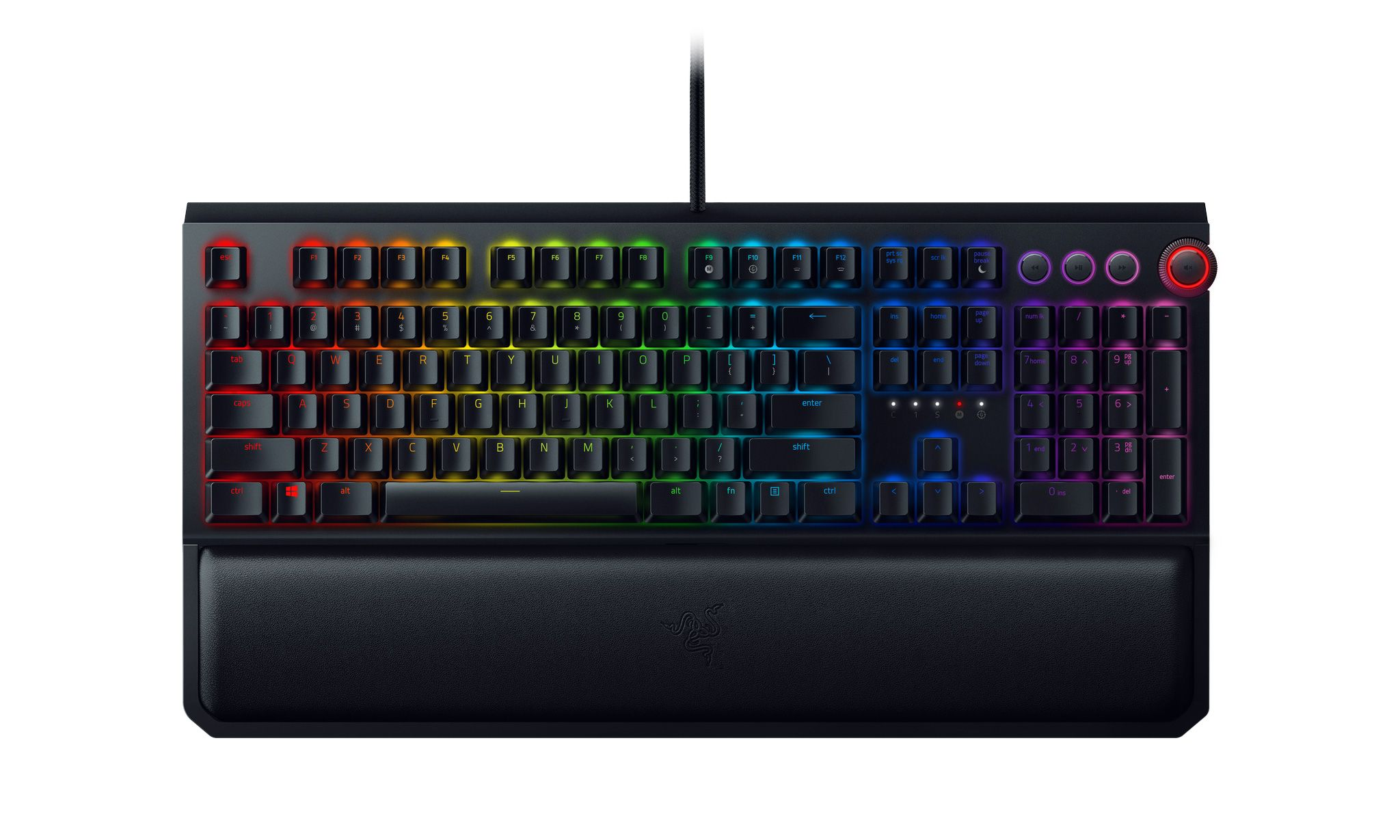 Механична клавиатура Razer BlackWidow Elite Orange Switch - 6