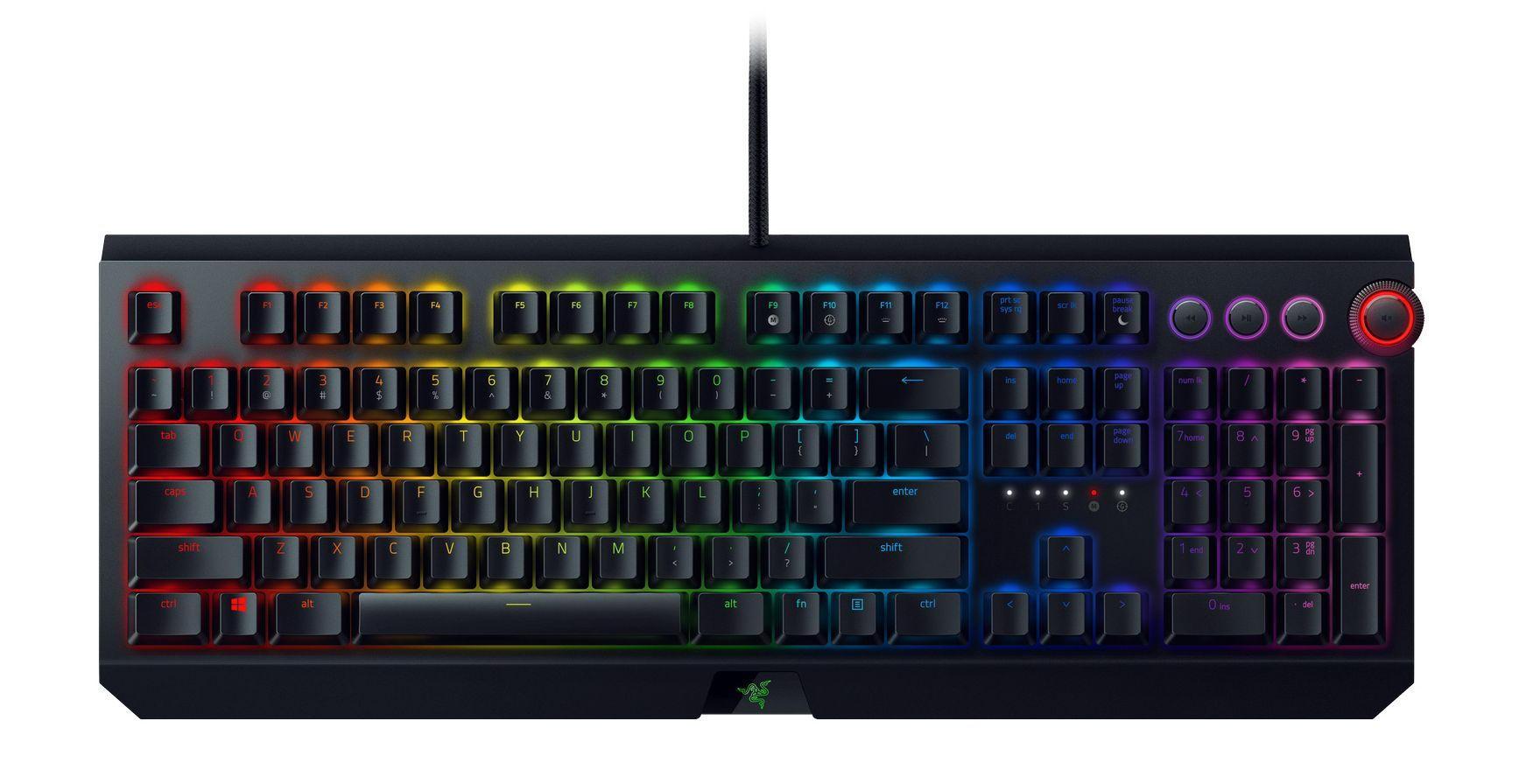 Механична клавиатура Razer BlackWidow Elite Yellow Switch - 2
