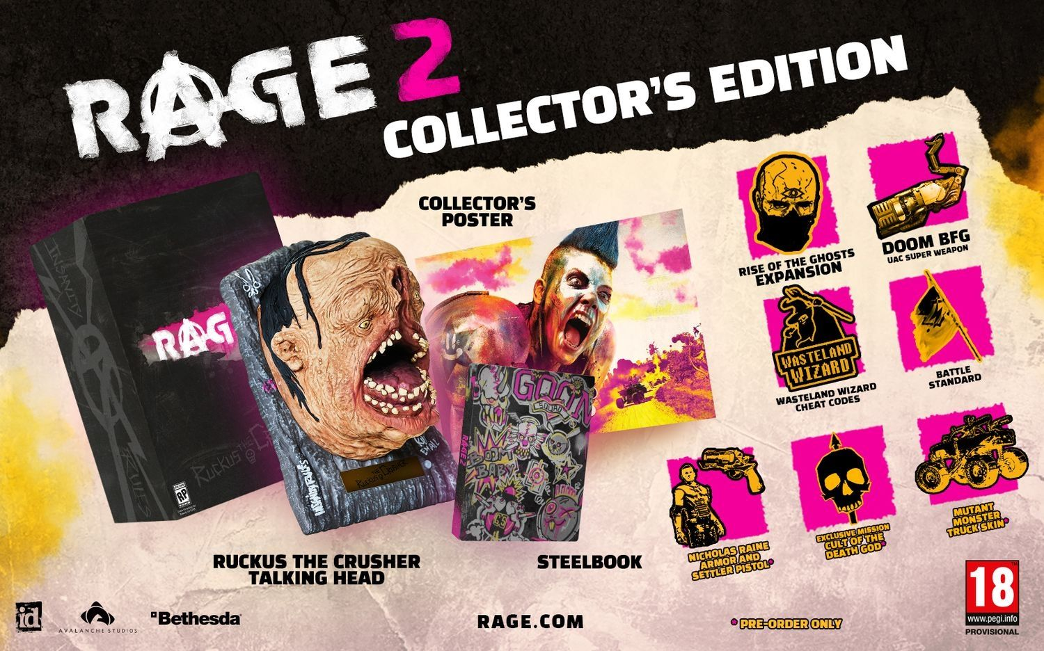 Rage 2 Collector's Edition (PS4) - 5