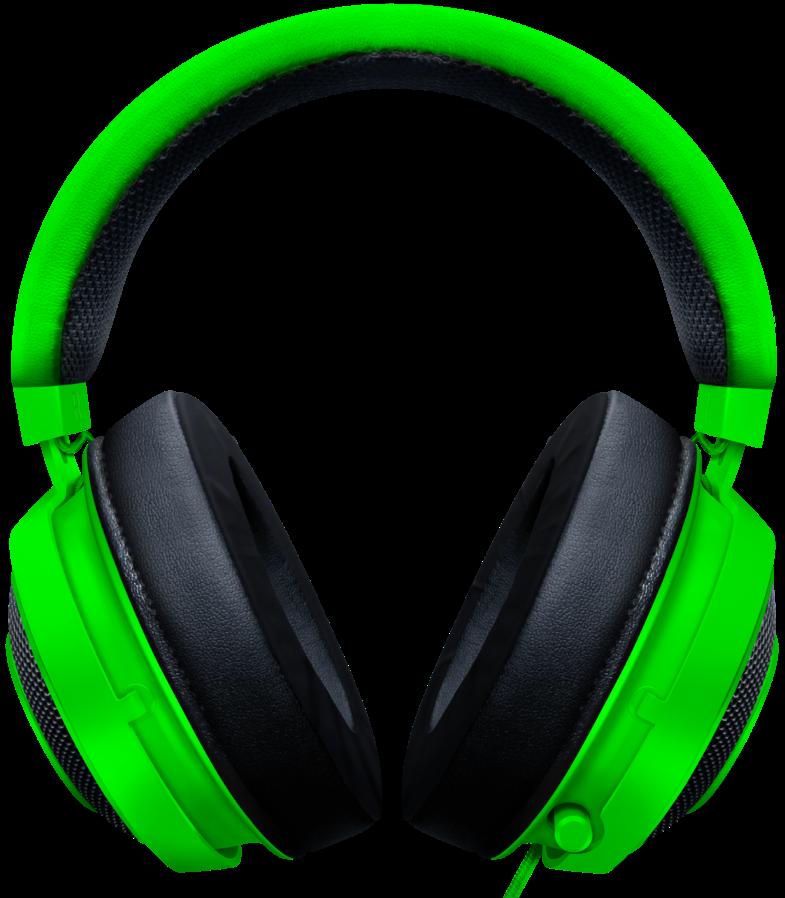 Гейминг слушалки Razer Kraken - Multi-Platform, зелени - 3