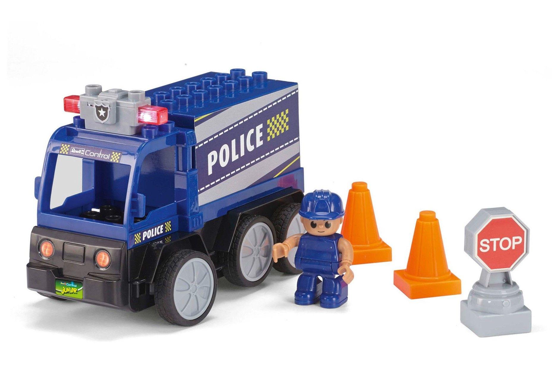 Радиоуправляем автомобил Revell Junior - Полицейски камион - 2