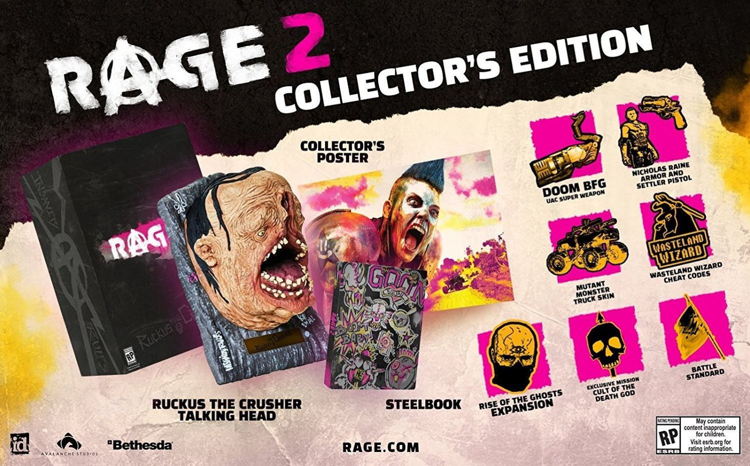 Rage 2 Collector's Edition (PC) - 5