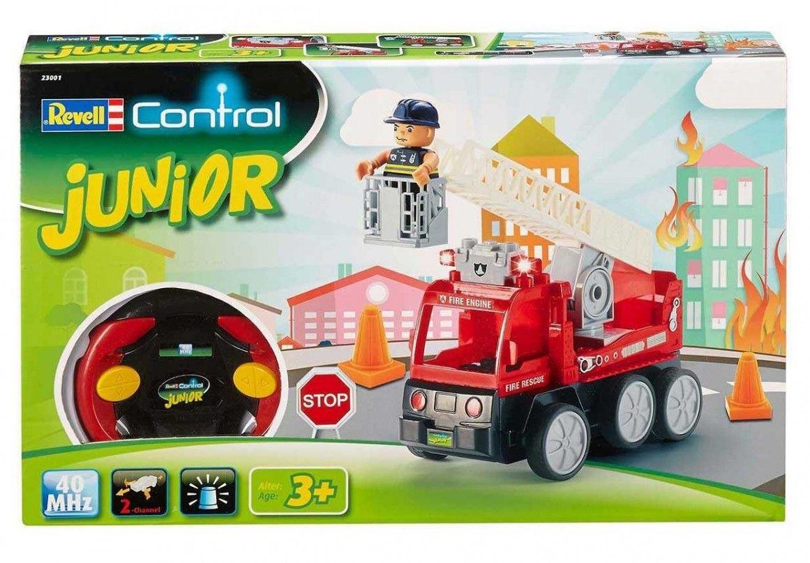 Радиоуправляем автомобил Revell Junior - Пожарна кола - 1