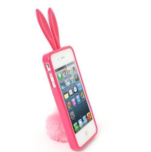 Rabito Bunny Case за iPhone 5 -  розов - 2