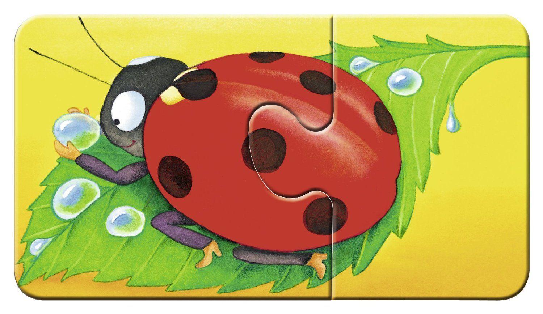 Пъзели Ravensburger 9 х 2 части - Животинки в градината - 3