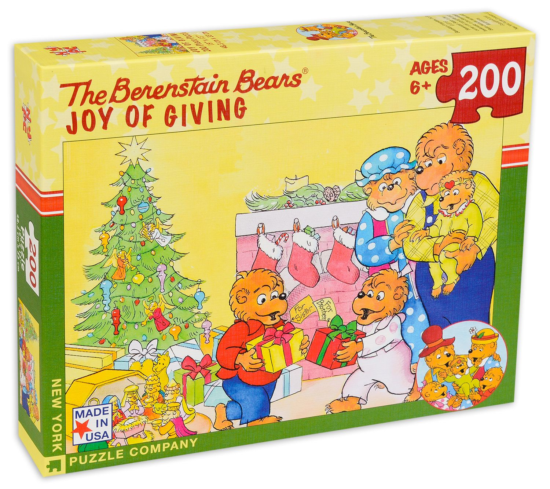 Пъзел New York Puzzle от 200 части - Радостта от подаряване - 1